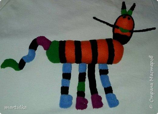 игрушка,  сшитая по рисунку ребенка....))) фото 3