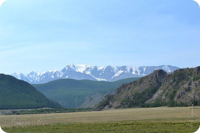 28го июля мы решили проехать до самой дальней точки нашего маршрута по Чуйскому тракту. Доехать планировалось до Кош-Агача. Это примерно 50 км не доезжая до границы с Монголией. Погода и природа радовали нас и восхищали. Предлагаю полюбоваться пейзажами фото 2