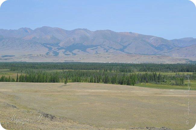 28го июля мы решили проехать до самой дальней точки нашего маршрута по Чуйскому тракту. Доехать планировалось до Кош-Агача. Это примерно 50 км не доезжая до границы с Монголией. Погода и природа радовали нас и восхищали. Предлагаю полюбоваться пейзажами фото 5