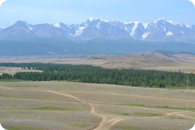 28го июля мы решили проехать до самой дальней точки нашего маршрута по Чуйскому тракту. Доехать планировалось до Кош-Агача. Это примерно 50 км не доезжая до границы с Монголией. Погода и природа радовали нас и восхищали. Предлагаю полюбоваться пейзажами фото 7
