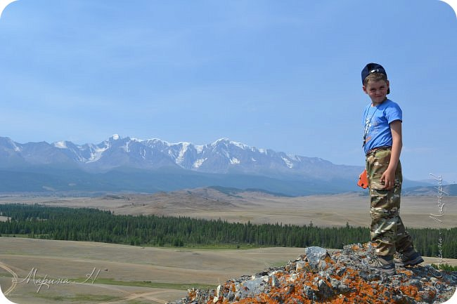 28го июля мы решили проехать до самой дальней точки нашего маршрута по Чуйскому тракту. Доехать планировалось до Кош-Агача. Это примерно 50 км не доезжая до границы с Монголией. Погода и природа радовали нас и восхищали. Предлагаю полюбоваться пейзажами фото 10