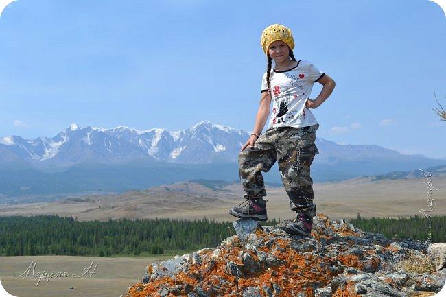 28го июля мы решили проехать до самой дальней точки нашего маршрута по Чуйскому тракту. Доехать планировалось до Кош-Агача. Это примерно 50 км не доезжая до границы с Монголией. Погода и природа радовали нас и восхищали. Предлагаю полюбоваться пейзажами фото 11