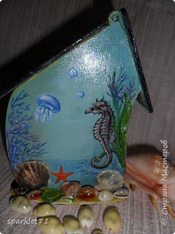 Чайный домик в морском стиле. фото 3