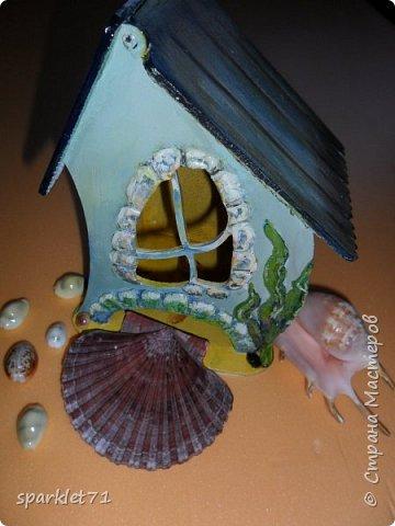 Чайный домик в морском стиле. фото 1