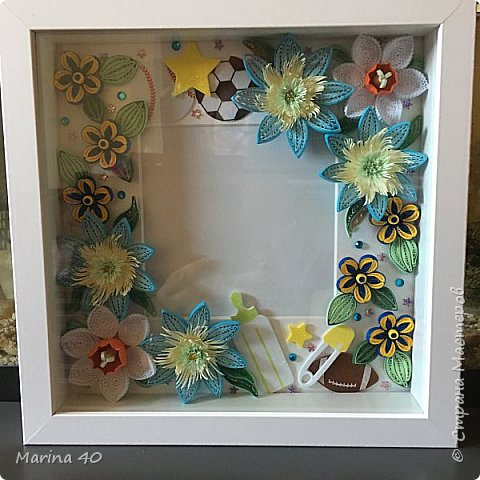 Good day everyone  This one I made for my good friend, for the birthday of her first grandchild  The size is 25 x25 фото 2
