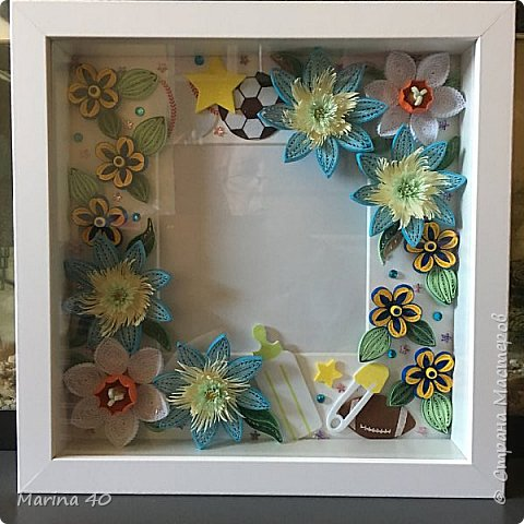Good day everyone  This one I made for my good friend, for the birthday of her first grandchild  The size is 25 x25 фото 3