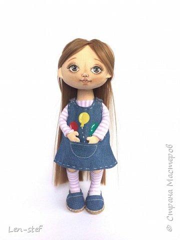 Текстильная кукла фото 2