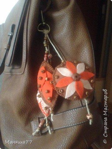 Брелок на школьный рюкзак фото 1