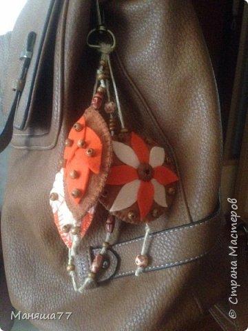 Брелок на школьный рюкзак фото 3