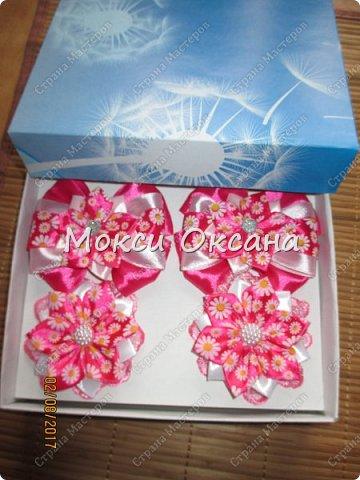 Все началось с заказа на красивые серо-розовые бантики к школе для второклассницы. фото 14