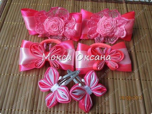 Все началось с заказа на красивые серо-розовые бантики к школе для второклассницы. фото 28