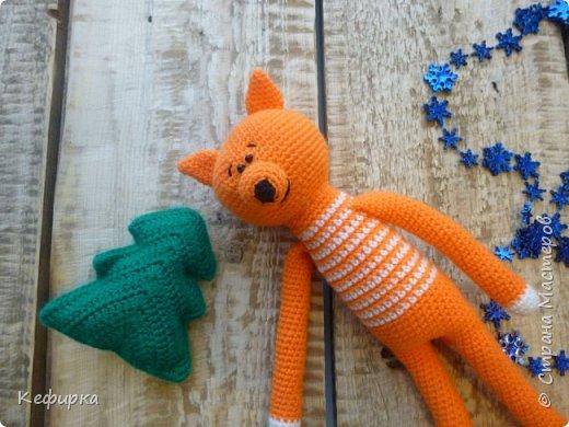 Обожаю лис! Одна связана в подарок, другая на заказ. Обе связаны по МК Полины Куц. фото 1
