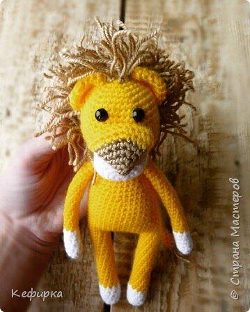 Львенок связан по описанию Olik Ask. фото 2