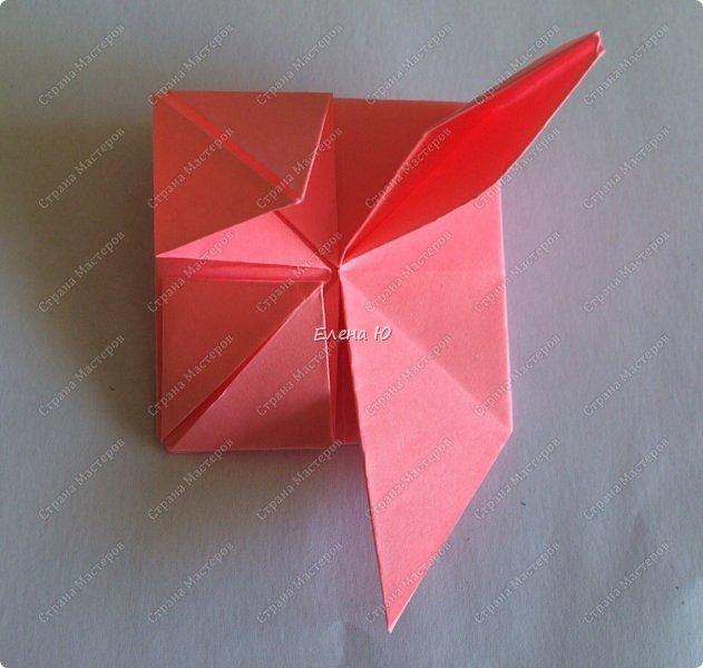 Оригинальный  куб  с рисунком модуля классической кусудамы очень приятно и быстро собирается, но нужны некоторые навыки в этом деле:  фото 16