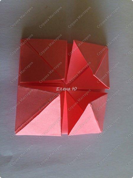 Оригинальный  куб  с рисунком модуля классической кусудамы очень приятно и быстро собирается, но нужны некоторые навыки в этом деле:  фото 18