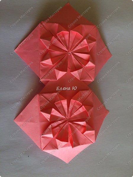 Оригинальный  куб  с рисунком модуля классической кусудамы очень приятно и быстро собирается, но нужны некоторые навыки в этом деле:  фото 22