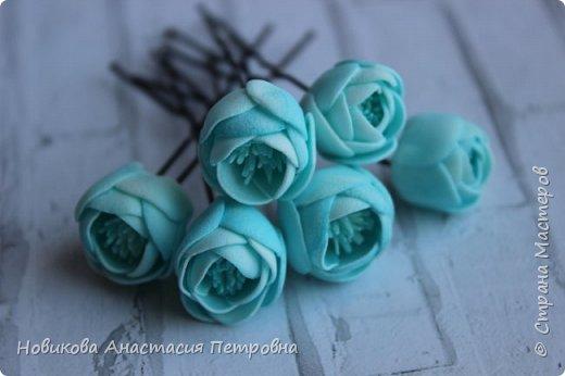 """МК """"Цветы на шпильках"""" для праздничной прически  принцессы! :) фото 1"""