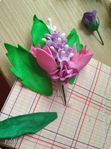 Решила сделать конвертик для денег на свадьбу друзей сама, поискала идеи в инете  и решила, что есть отличное применение цветочкам, которые не попали в ободки. фото 4