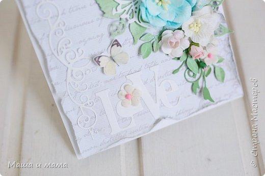 Здравствуйте!!!! Продолжаю публиковать свои конверты-открытки для дисков со свадебными фото. На этот раз сложился вот такой. фото 3