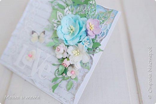 Здравствуйте!!!! Продолжаю публиковать свои конверты-открытки для дисков со свадебными фото. На этот раз сложился вот такой. фото 7