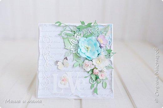 Здравствуйте!!!! Продолжаю публиковать свои конверты-открытки для дисков со свадебными фото. На этот раз сложился вот такой. фото 4