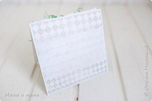 Здравствуйте!!!! Продолжаю публиковать свои конверты-открытки для дисков со свадебными фото. На этот раз сложился вот такой. фото 6