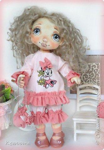 Куклы текстильные.  фото 5