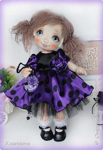 Куклы текстильные.  фото 4