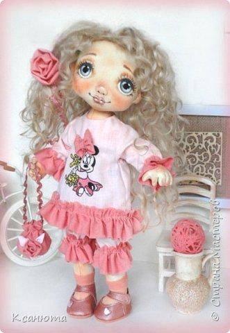Куклы текстильные.  фото 6