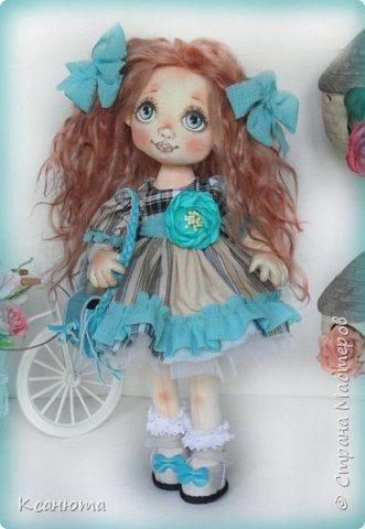 Куклы текстильные.  фото 9