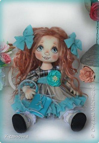 Куклы текстильные.  фото 8