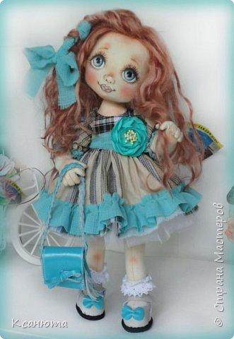 Куклы текстильные.  фото 11