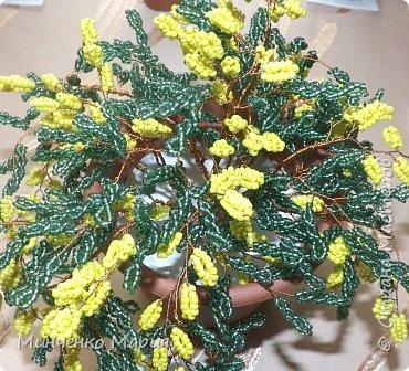 Цветы из бисера фото 7