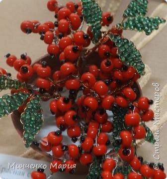 Цветы из бисера фото 6