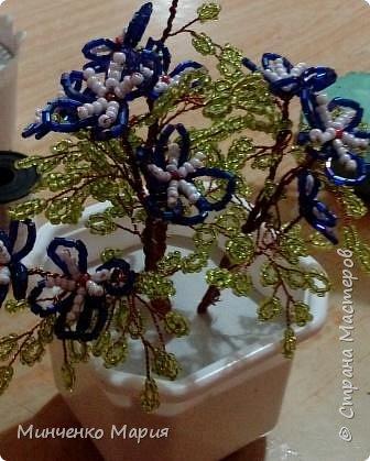 Цветы из бисера фото 3