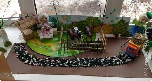 Декорирование огорода на подоконнике фото 1