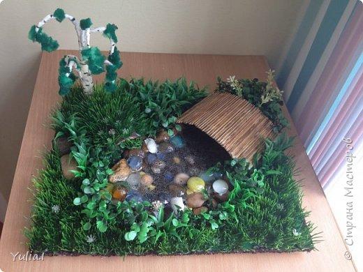 Декорирование огорода на подоконнике фото 3