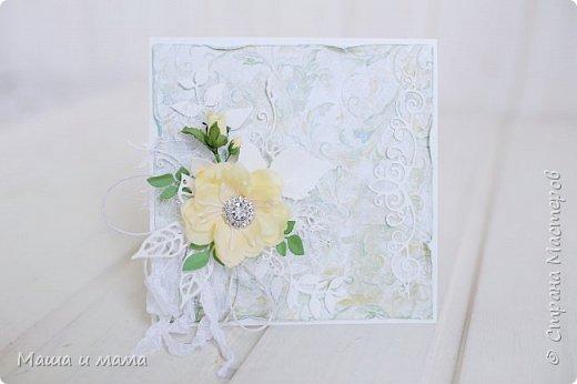 И снова здравствуйте!!!!  Еще одна открыточка. Вдохновлялась у Lady E  http://scrapartbyladye.blogspot.ru/  У меня получилось как-то так фото 2