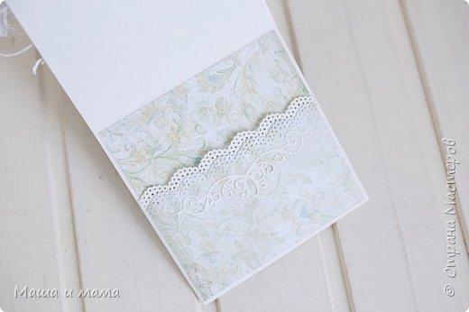 И снова здравствуйте!!!!  Еще одна открыточка. Вдохновлялась у Lady E  http://scrapartbyladye.blogspot.ru/  У меня получилось как-то так фото 5