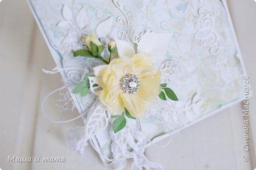 И снова здравствуйте!!!!  Еще одна открыточка. Вдохновлялась у Lady E  http://scrapartbyladye.blogspot.ru/  У меня получилось как-то так фото 4