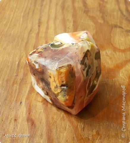 Мыло в виде камней фото 7