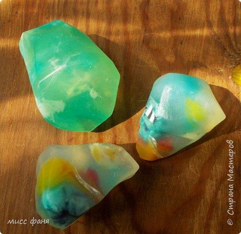 Мыло в виде камней фото 12