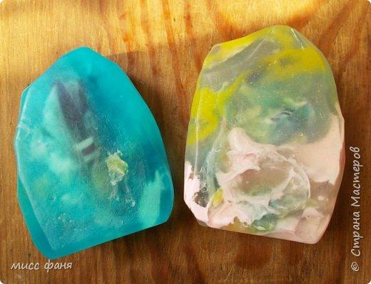 Мыло в виде камней фото 16