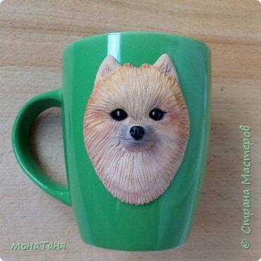 Добрый день.  Попытка N 2. Первая чашка мне не понравилась,  слепила ещё  померанца,  ну этот вроде  получше,  а Вам как?  фото 3