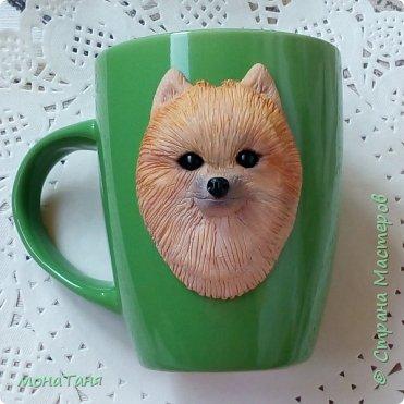 Добрый день.  Попытка N 2. Первая чашка мне не понравилась,  слепила ещё  померанца,  ну этот вроде  получше,  а Вам как?  фото 1