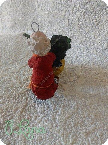Здравствуйте,дорогие друзья! Сегодня хочу показать Вам свою новую игрушку из ваты сделанную по мотивам русской народной сказки Репка. Посадил дед репку и говорит: -Расти,расти ,репка сладка!Расти,расти репка крепка! Выросла репка сладка,крепка,большая-пребольшая. фото 10
