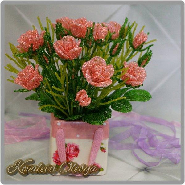 Букет роз в подарочном пакете  фото 7