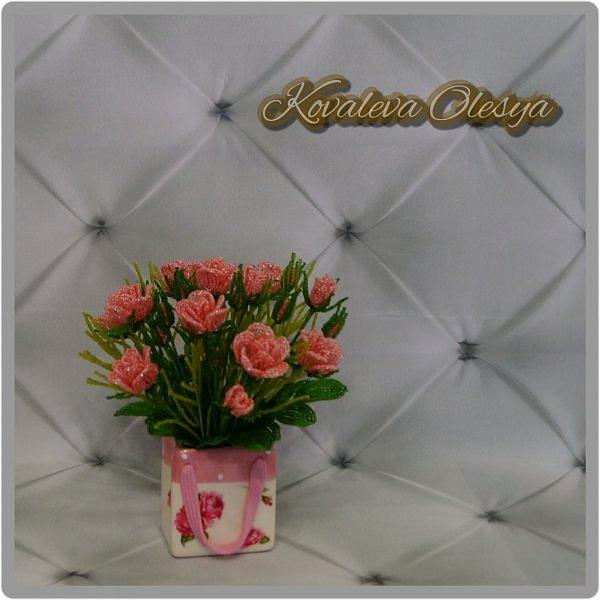 Букет роз в подарочном пакете  фото 5