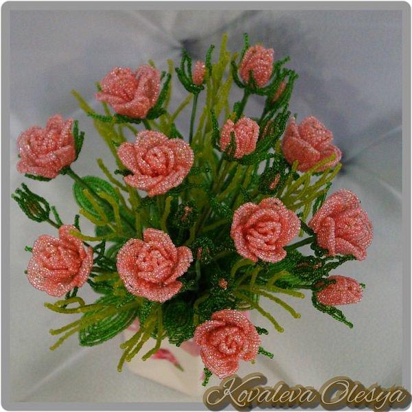 Букет роз в подарочном пакете  фото 8