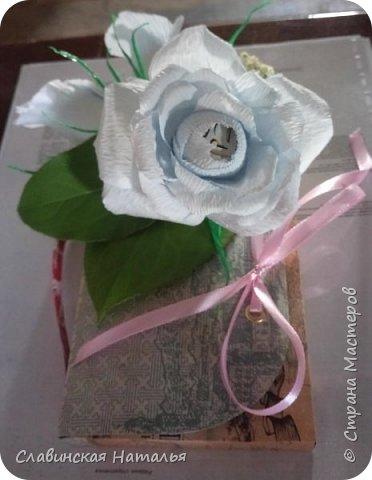 На 8 марта воспитателям в подарок внутри потайной кармашек для сертификата по 2пакетика чая в каждом кармашке и шоколад фото 31